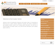 A1 Investments & Resources Limited Website Link