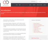 G8 Education Limited Website Link