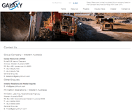 Galaxy Resources Limited Website Link