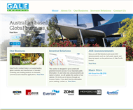 Gale Pacific Limited Website Link