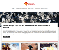 Gateway Mining Limited Website Link