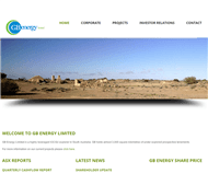 GB Energy Limited Website Link