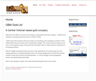 GBM Gold Ltd Website Link