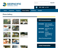 Geopacific Resources Ltd Website Link