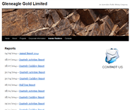 Gleneagle Gold Limited Website Link