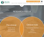 Zelda Therapeutics Limited Website Link