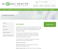 Global Health Limited Website Link