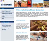 Global Metals Exploration NL Website Link