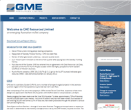 GME Resources Limited Website Link