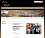 Golden Rim Resources Ltd Website Link