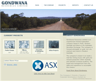 Gondwana Resources Limited Website Link