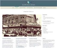 Gowing Bros Limited Website Link