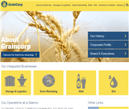 GrainCorp Limited Website Link