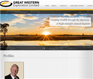 Great Western Exploration Limited Website Link