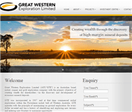 Great Western Exploration Limited Website Link
