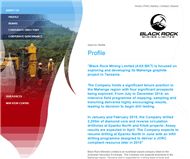 Black Rock Mining Limited Website Link