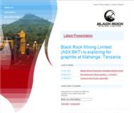 Black Rock Mining Limited Website Link
