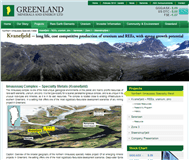 Greenland Minerals and Energy Limited Website Link