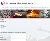 Gulf Manganese Corporation Limited Website Link