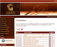 Gullewa Limited Website Link