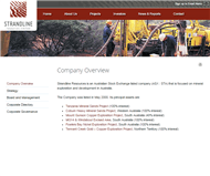 Strandline Resources Limited Website Link