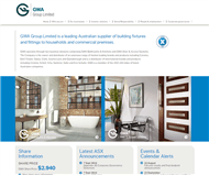 GWA Group Limited Website Link