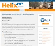 Helix Resources Limited Website Link