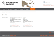 Highlands Pacific Limited Website Link