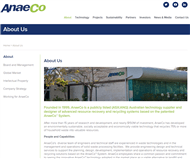 AnaeCo Limited Website Link
