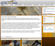 Hill End Gold Limited Website Link