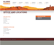 Hillgrove Resources Limited Website Link