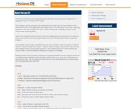 Horizon Oil Limited Website Link