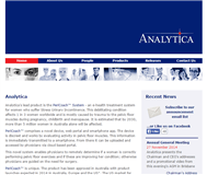 Analytica Limited Website Link