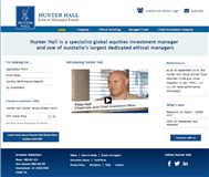 Hunter Hall Global Value Limited Website Link