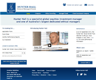 Hunter Hall International Limited Website Link
