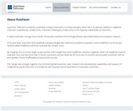 Hutchison Telecommunications (Australia) Limited Website Link