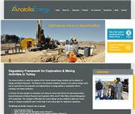 Anatolia Energy Limited Website Link