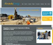 Anatolia Energy Limited Website Link