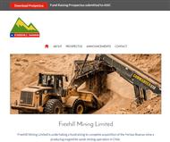 Freehill Mining Limited Website Link