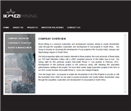 Ikwezi Mining Limited Website Link
