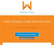 Wakenby Limited Website Link