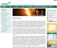 Aneka Tambang (Persero) TBK (PT) Website Link