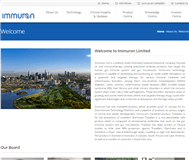Immuron Limited Website Link