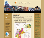 India Resources Limited Website Link