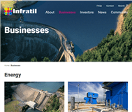 Infratil Limited Website Link