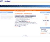 IPE Limited Website Link
