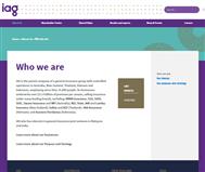 Insurance Australia Group Limited Website Link